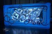 Lampada Dream in Azzurro