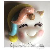 Ciondolo unicorno per decorare bomboniere o gadget di compleanno