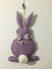 Coniglio fuoriporta lilla