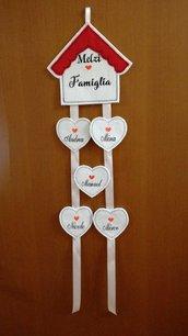 Dietro porta La casetta love family