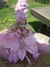 Bambola porcellana bisquit fatina