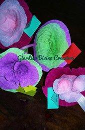 Mini bouquet fiori rose personalizzato