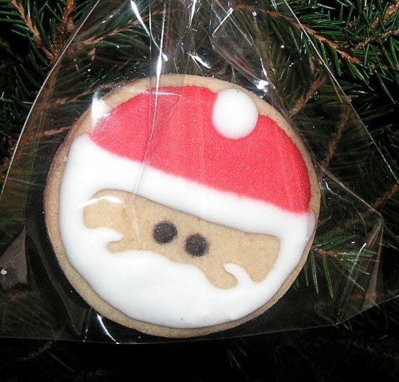 galletas para obsequiar o colgar en el árbol