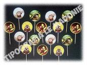 Topper per cupcake CURIOSO COME GEORGE per feste di compleanno