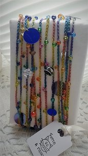 COLLANA MULTICOLOR A CROCHET
