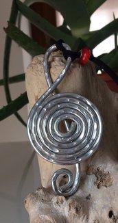 Collane anelli bracciali orecchini in alluminio 102