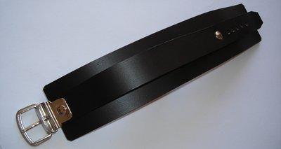 bracciale in cuoio modello a 1 striscia