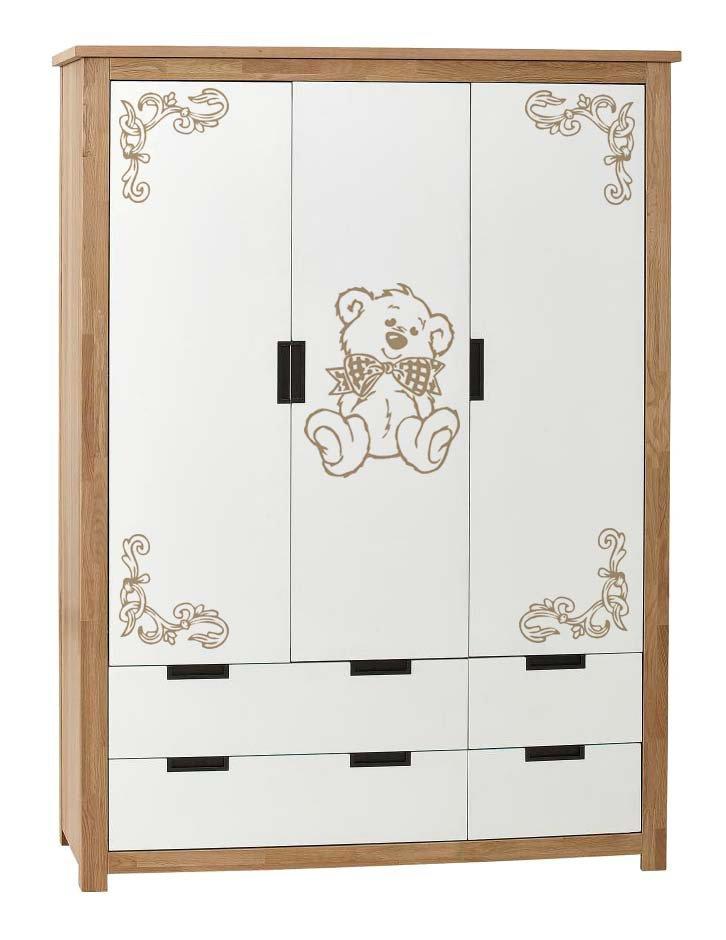Adesivo orsetto con angolari per armadio bimbi - Bambini ...