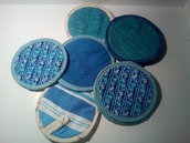 """Presine patchwork """"Cucina in blu"""""""