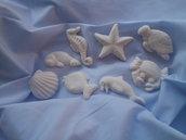 Gessetti tema mare in polvere ceramica