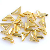Angoli per libri in metallo colore oro 10 pezzi set