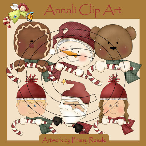 Buon Natale - Clip Art per Scrapbooking, Decoupage e non solo - Immagini