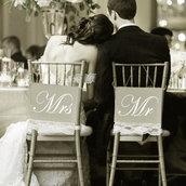 Adesivo Mr e Mrs