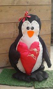 Pinguino gigante fermaporta