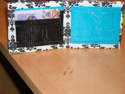 Wallet BEAUTIFUL Handmade with duct tape Unique