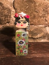 Portacandele Frida Khalo