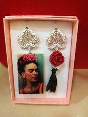 Orecchini pendenti Frida kalho