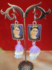 Orecchini pendenti Frida kahlo