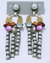 """Orecchini pendenti con perle """"Donna Clelia"""""""