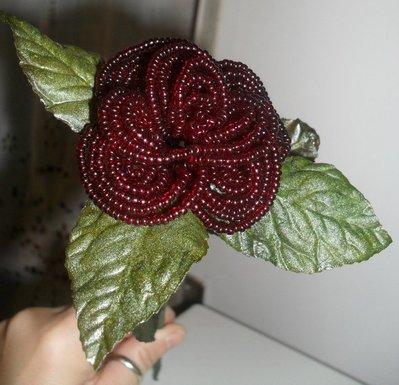 rosa di perline