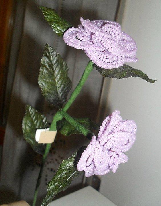 stelo con doppia rosa
