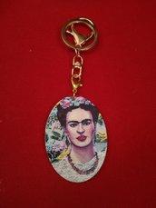 Porta chiave ciondolo Frida kahlo