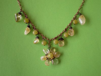 Collana fiore di campo - Wildflower necklace