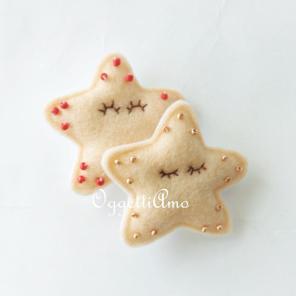 Miniatura stella marina in feltro: per personalizzare delle bomboniere dal sapore di mare!