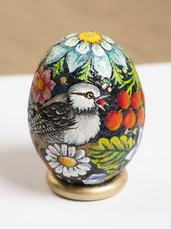 SASSO UOVO PASQUA - sasso dipinto a forma di uovo - uovo pasquale - uovo decorato