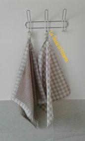 Asciugamani e strofinaccio cucina