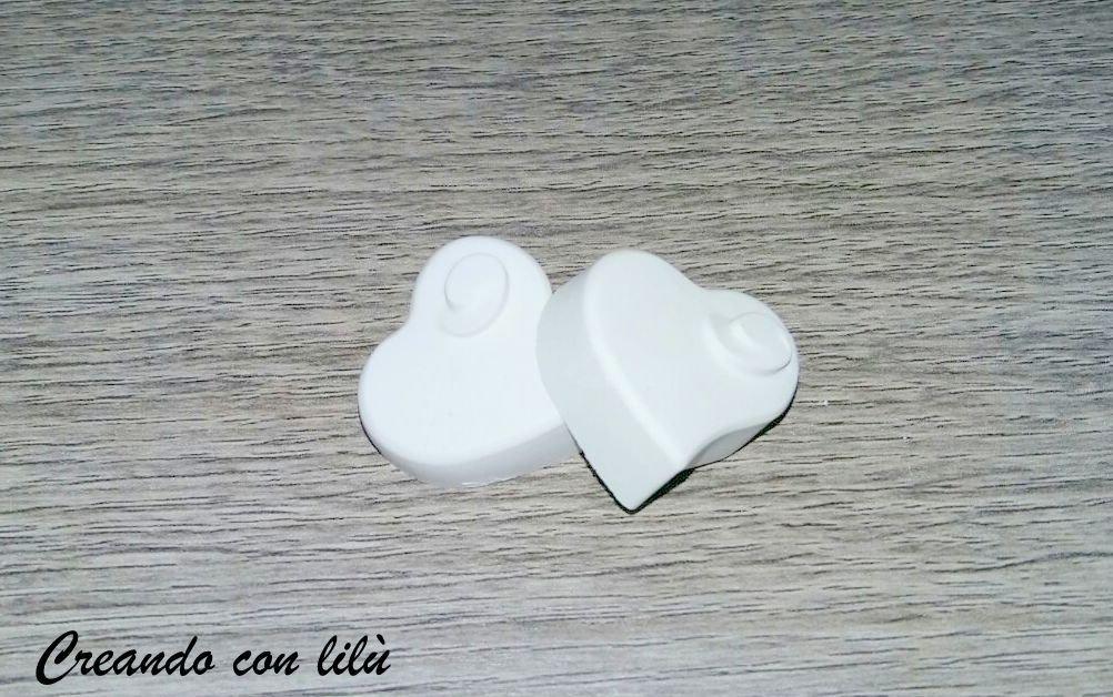gessetto profumato cuore con motivo rilievo cm3 circa