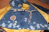 borsa tracolla in jeans-i jeans si fanno borsa