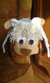 Stola pecorella portaoggetti