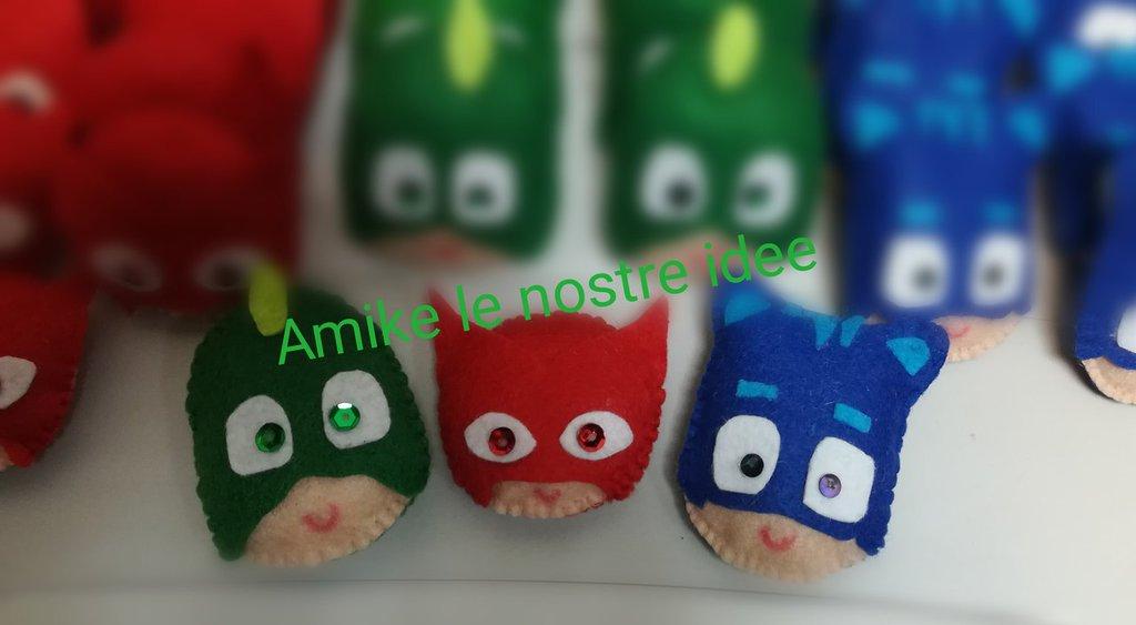 calamite festa soggetto pigiamini pj masks