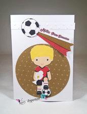 Invito comunione calciatore