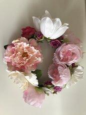Ghirlanda di fiori artificiali