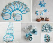 Festa a tema Frozen per due sorelline: gadget, decorazioni, travestimenti e accessori per il compleanno di Elsa e Anna!!!