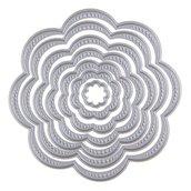 Fustelle in metallo fiori ft9