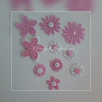 Fustellati kit fiori