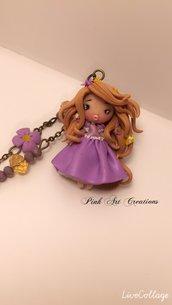 Non più disponibile -Collana ciondolo Rapunzel
