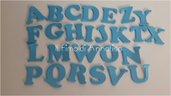 Fustellati kit alfabeto