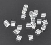 1000 Gommini per Monachelle 3 x 3 mm per orecchini componenti per bigiotteria,