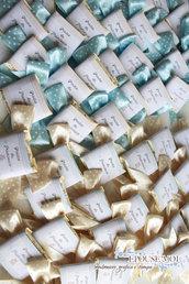 cioccolatini di Modica personalizzabili per battesimi e eventi vari con fiocco