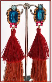 Orecchini Dangle Earring multicolor