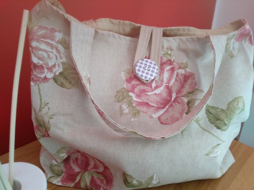 Shopping bag ripiegabile