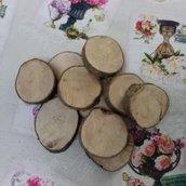 Rotelle in legno di Carpino