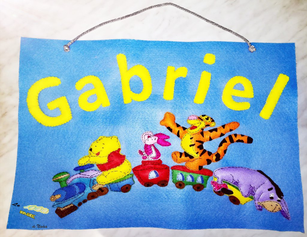 Banner per cameretta Winnie the Pooh