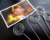 Asticella/Spirale portafoto  (12,8cmx1,4mm) (cod. new)