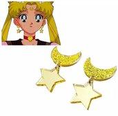Orecchini stella e luna SAILOR MOON manga cartone animato