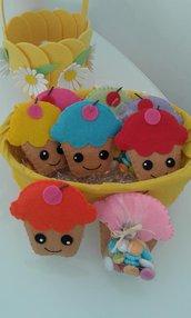 bomboniere Calamite Cupcake